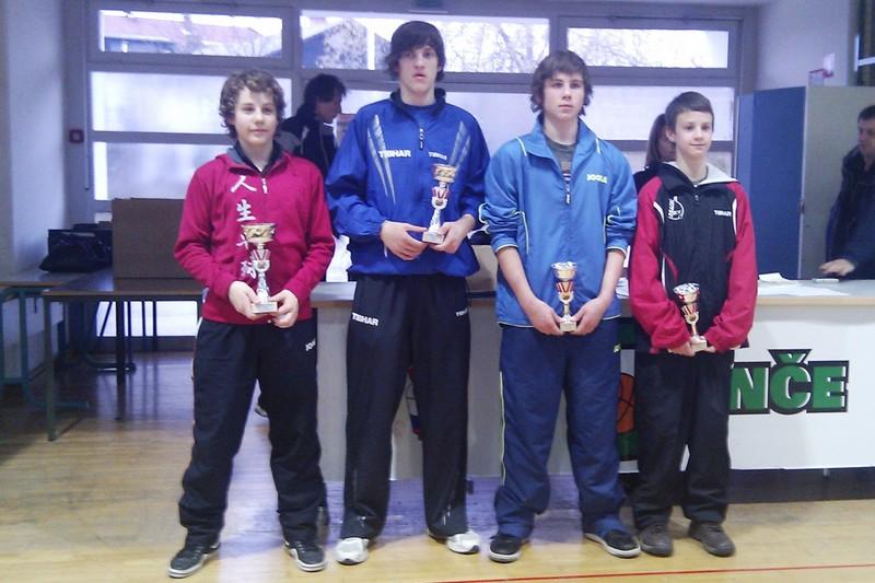 Galerija k članku: 3. OT RS za kadete v sezoni 2010/2011